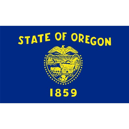 Laminated Poster Oregon State Flag Salem Portland Beaver Eugene Poster Print 24 x 36 - Party City Eugene Oregon