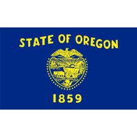 Laminated Poster Oregon State Flag Salem Portland Beaver Eugene Poster Print 24 x 36
