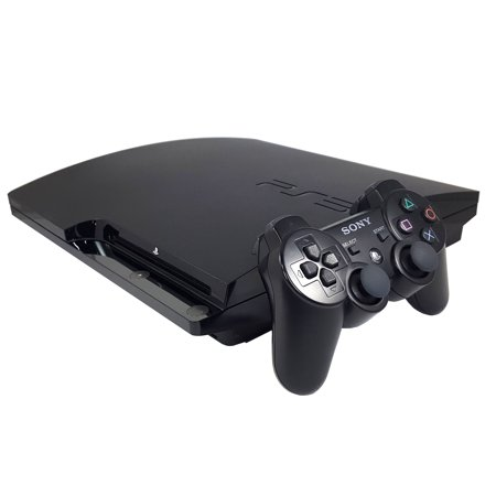 Refurbished Sony PlayStation 3 PS3 Slim 120GB Video Game Console Black Controller HDMI](ps3 black friday deals)