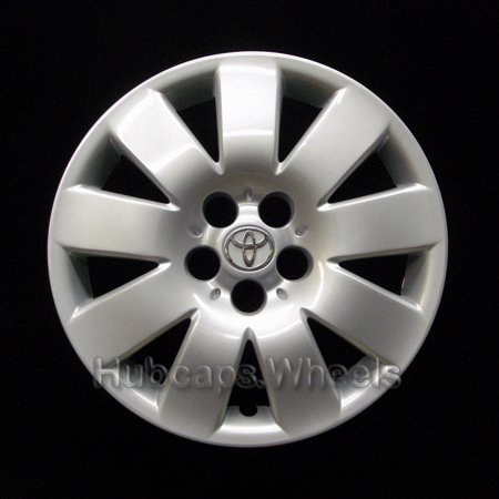 OEM Genuine Toyota Wheel Cover - Professionally Refinished Like New - Corolla 15-inch hubcap 2003-2004