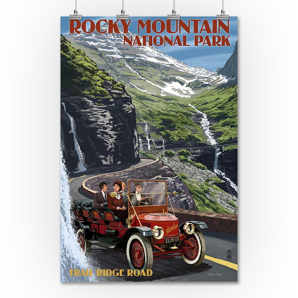 Rocky Mountain National Park, Colorado - Stanley Steamer ...