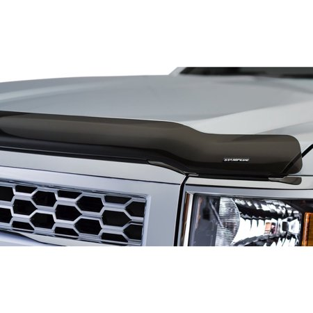 Stampede 2050-2 Bug Shield For Chevrolet Silverado 1500, Acrylic Smoke