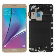 Jeobest Gold For Samsung Galaxy J7 J700M J700F LCD Touch Screen Digitizer Replace +Frame