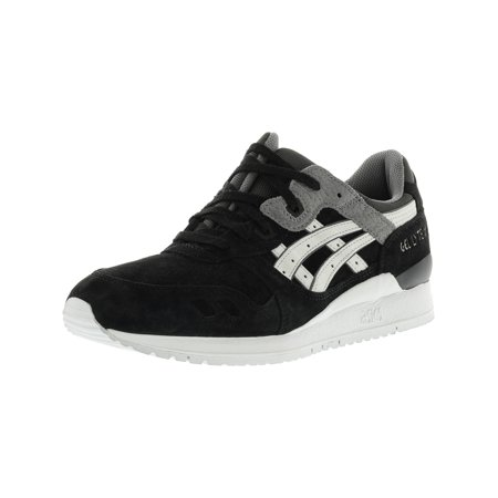 8906646c0ad2 Asics - Asics Men s Gel-Lyte Iii Black   Soft Grey Ankle-High Leather  Running Shoe - 12M - Walmart.com