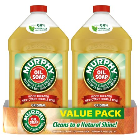 Murphy Oil Soap Wood Cleaner, Original - 32 fluid ounce, 2 (Best Concrete Cleaner Oil Stains)