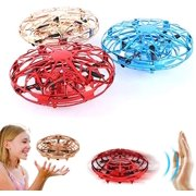 Mini Drone for Kids Adults, Flying Ball Hand Controlled Quadcopter Light Up Flying Toys, UFO Flying Ball Drone Toys with 360°Rotating Helicopter Outdoor Toys Holiday Birthday Gifts