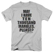 Animal House Classic College Frat Comedy Movie Marbles Adult T-Shirt Tee