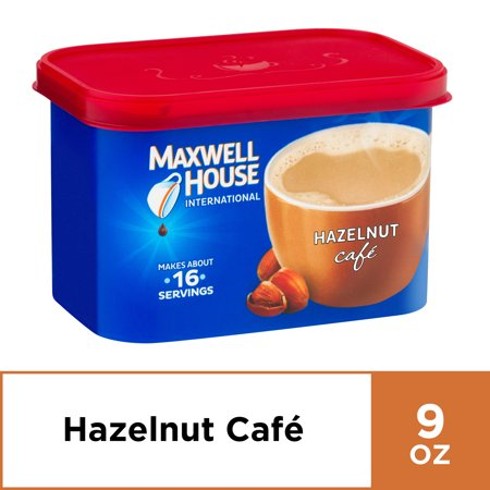 Maxwell House International Hazelnut Coffee, 9 oz Canister