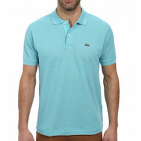 7bf9c8c3 Lacoste - Lacoste Men's Pique L.12.12 Original Fit Polo Shirt - Past  Season, Corsica Aqua, 7 - Walmart.com