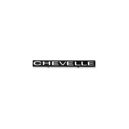 Chevelle Emblem (Eckler's Premier  Products 50-204555 Chevelle Grille Emblem, Chevelle,)
