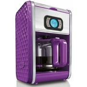 Bella Diamonds Programmable Coffeemaker, Purple