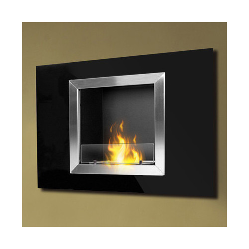 PureFlame Calida Wall Mounted Bio-Ethanol Fireplace