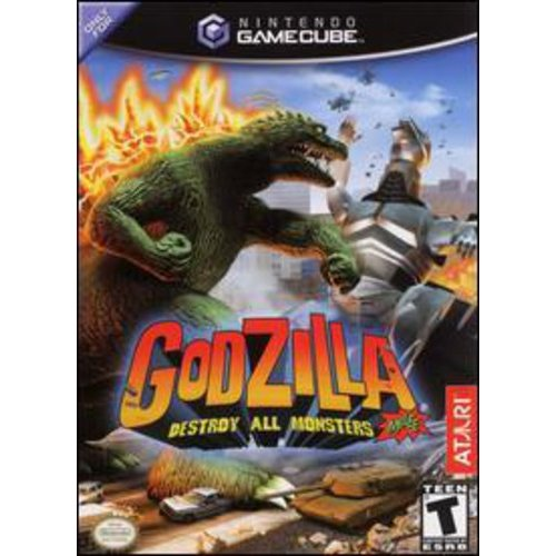 Atari Godzilla: Destroy All Monsters Melee