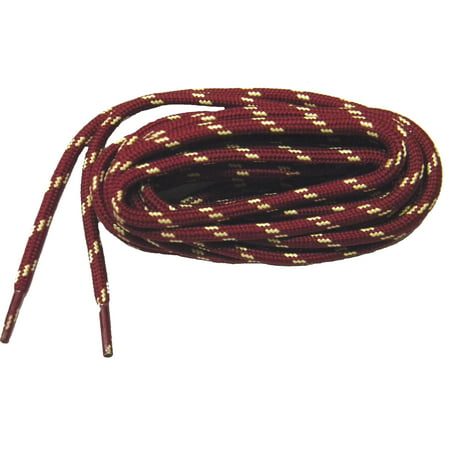 greatlaces 54 inch 137 cm burgundy red wine with yellow kevlar reinforced protough heavy. Black Bedroom Furniture Sets. Home Design Ideas