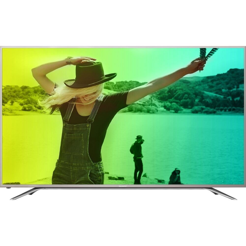 "Refurbished Sharp 43"" Class 4K (2160P) Smart LED TV (LC-43N7000U) by Sharp"
