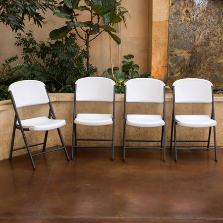 Lifetime Classic Commercial Folding Chair, Set of 4 - Walmart.com
