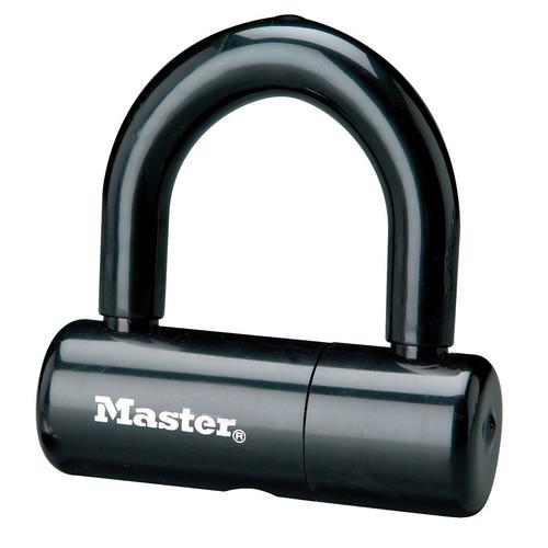 Master Lock 8118DPF Steel U-Lock, 1/2 In. L