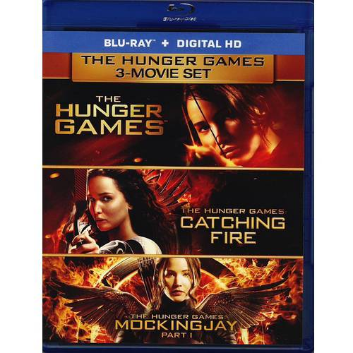 The Hunger Games 3-Movie Set: The Hunger Games / The Hunger Games: Catching Fire / The Hunger Games: Mockingjay Part 1 (Blu-ray + Digital HD) (Walmart Exclusive)