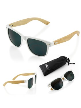 462ab016d5 Product Image Fashion Vintage Wood Wooden Frame Mens Womens Glass Bamboo Sunglasses  Eyewear