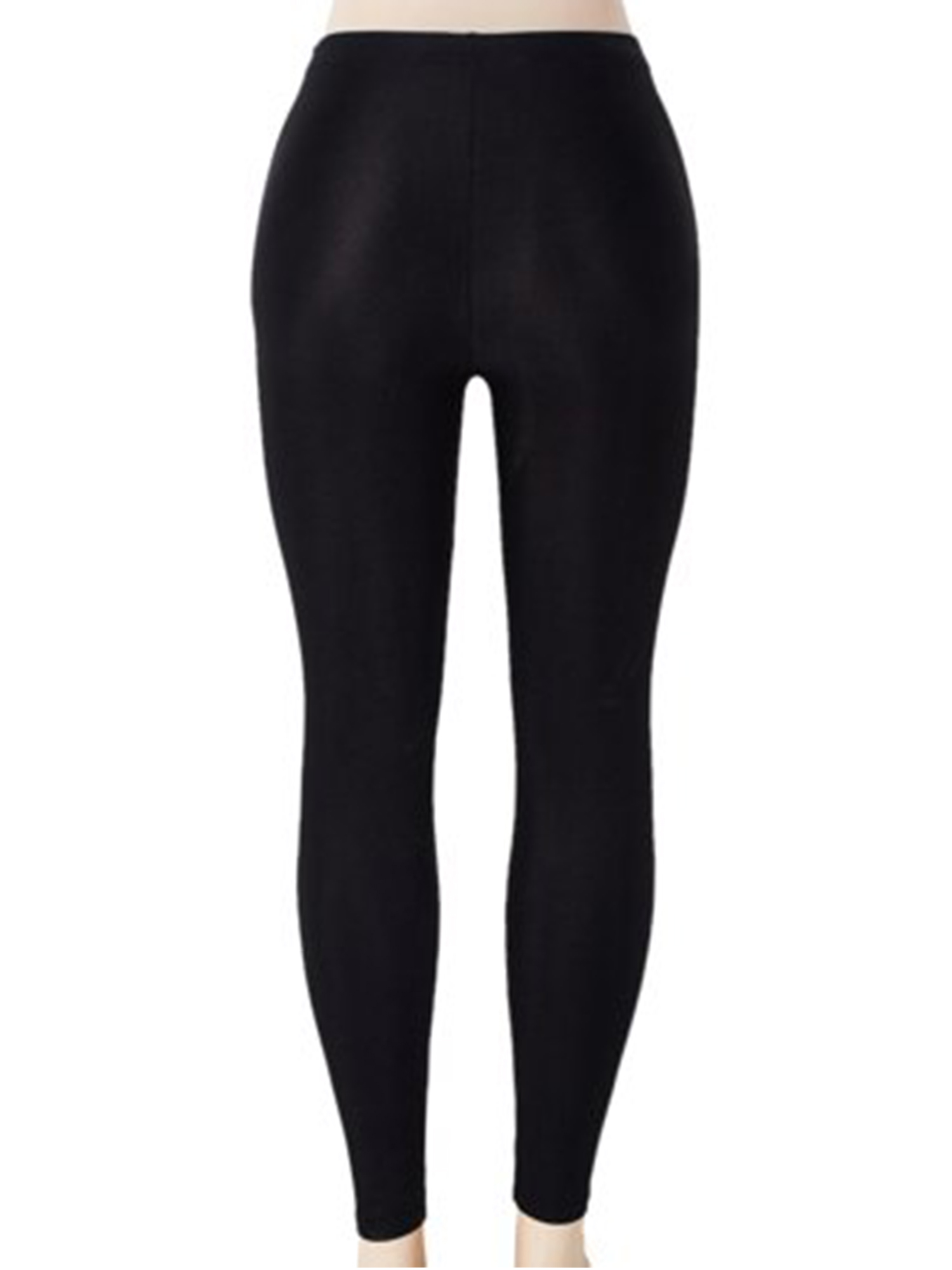 d13751880199d SAYFUT - SAYFUT Women's Solid Color Leggings Seamless Stretchy Tights Pants  Black Size S-3XL - Walmart.com