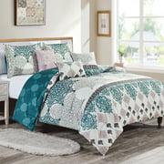 HGMart Bedding Comforter Set Bed In A Bag - 6 Piece Luxury Printed Microfiber Bedding Sets - Oversized Bedroom Comforters, King/Cal King Size, Cody
