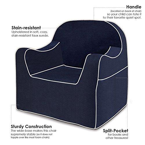 P'kolino Reader Chair (Navy Blue)