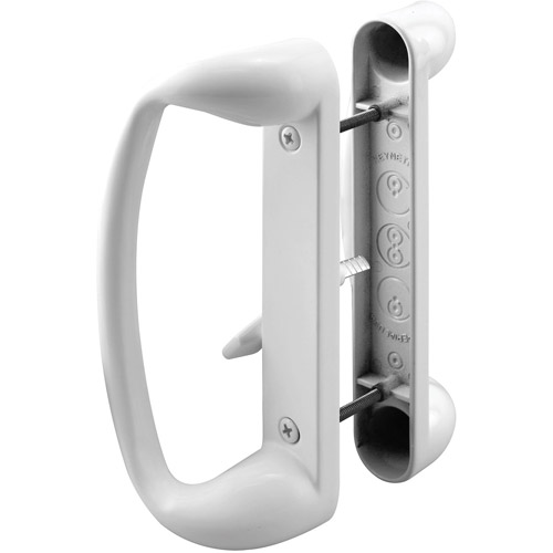 Prime Line Products C1176 White Sliding Glass Door Handle