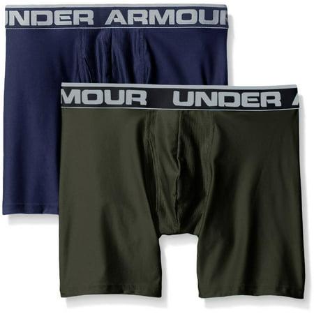 Under Armour Men's Original Series 2-Pack Boxerjock Boxer Briefs 1282508