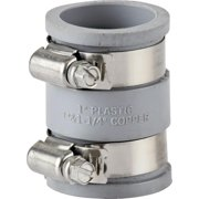 ProSource Drain Pipe Connector 1-1/4 Or 1-1/2 In Pvc