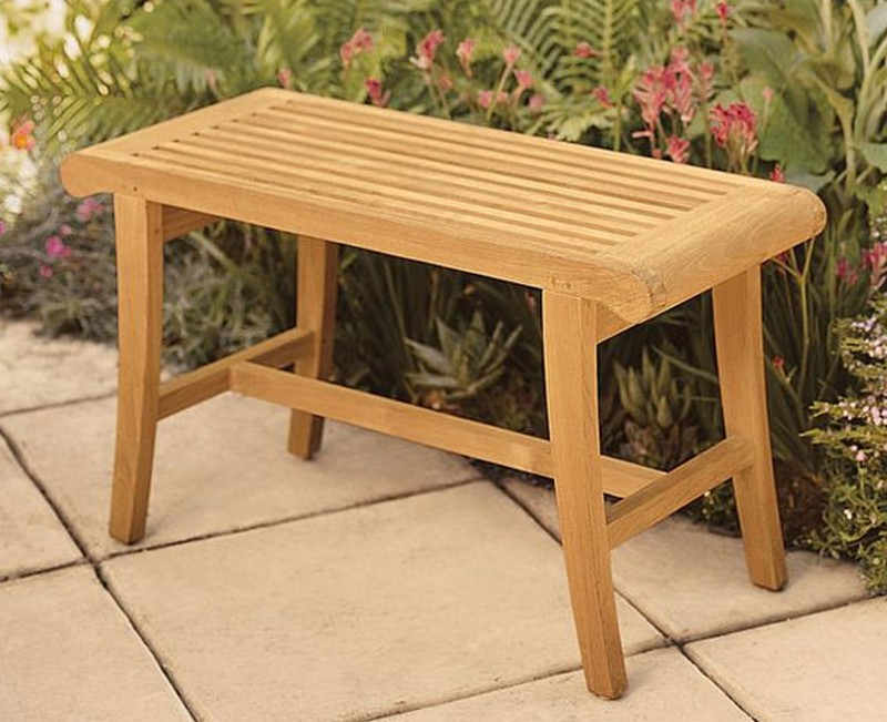 Teak Occassional Bench by