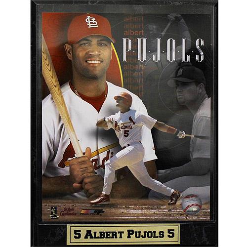 MLB Albert Pujols Photo Plaque, 9x12