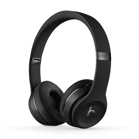 Beats Solo3 Wireless On-Ear Headphones with Apple W1 Headphone Chip - Black