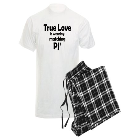 619bb6df0800 CafePress - CafePress - Love Is Matching Pjs - Men's Light Pajamas -  Walmart.com