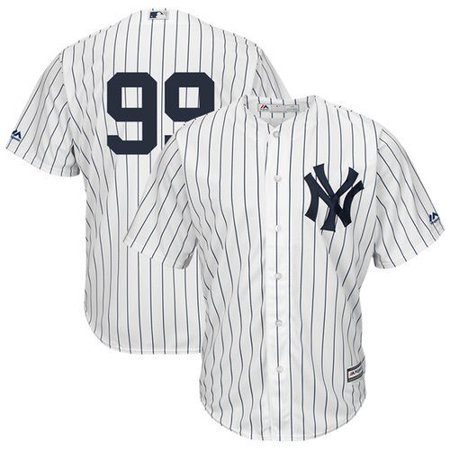 - Aaron Judge New York Yankees Majestic Cool Base Player Replica Jersey - White