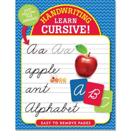 Handwriting: Learn Cursive! - Handwriting Books