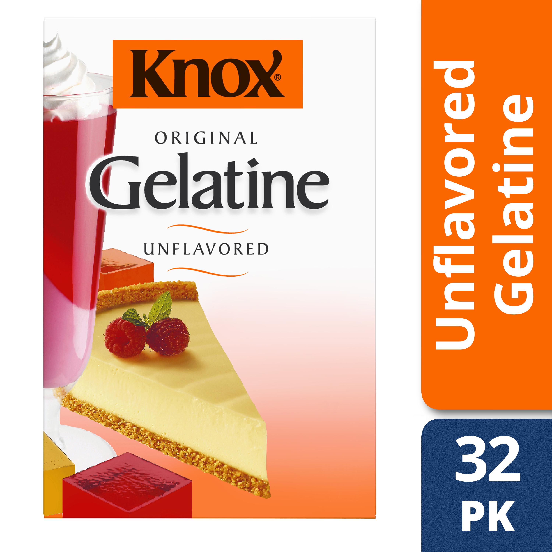 Knox Original Unflavored Gelatin, 32 Envelopes, 8 oz Box