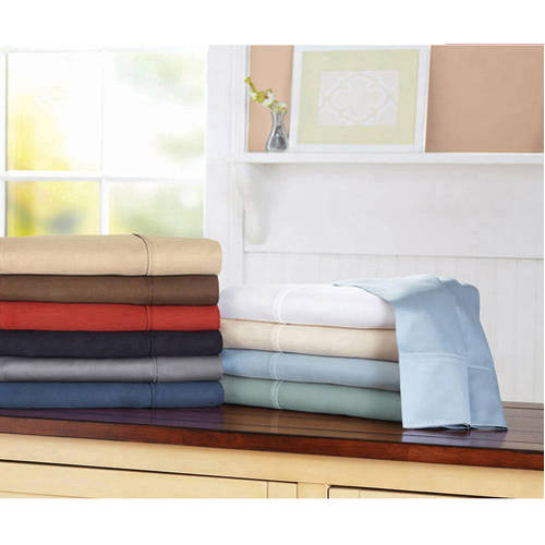 Better Homes and Gardens 300 Thread Count King Sheet Set, White