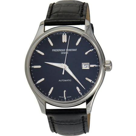 Frederique Constant Mens Fc303b5b6 Index Swiss Automatic Black Watch