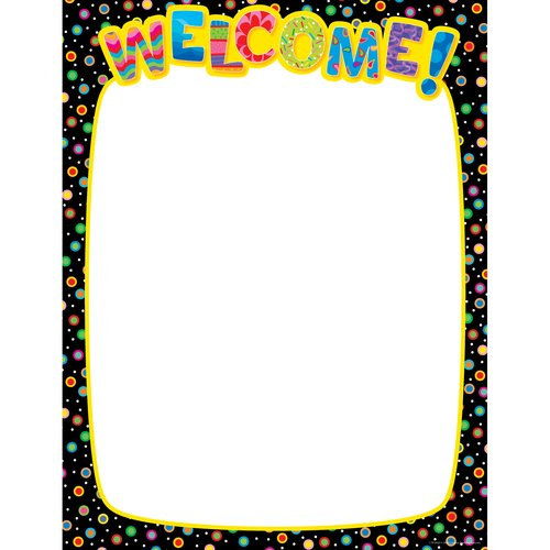 Creative Teaching Press Welcome Classroom Essentials Chart