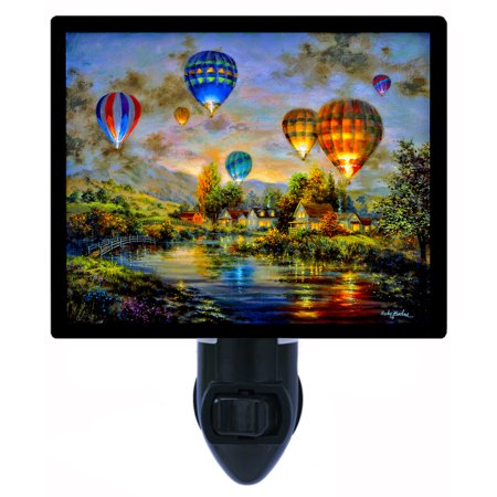 Night Light - Photo Light - Balloon Glow - Hot Air Balloons](Glow Ball Night Light)
