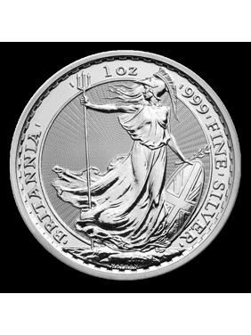 1 oz Britannia Silver Coin - Random Year