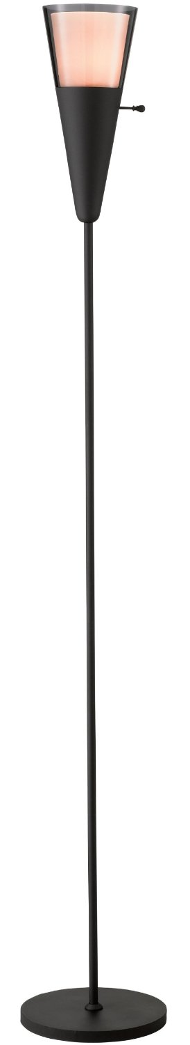 Adesso 3278-01 Beacon Floor Lamp, Black by Adesso