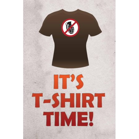 Jersey Shore It's T-Shirt Time TV Poster Print Poster Wall Art](Funny Jersey Shore)