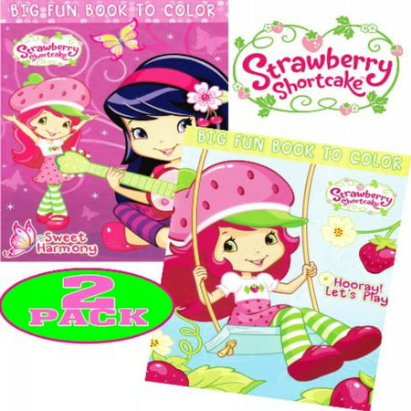 Strawberry Shortcake Coloring Book (Strawberry Shortcake® Coloring and Activity Book Set (2 Books ~ 96 pgs)
