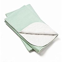 Platinum Care Pads Moderate Washable Underpad Reusable, 34x36 in, Pack/4 (Green) for use with incontinence, reusable pet pads, reusable bed pads, great for dogs, cats, and bunny