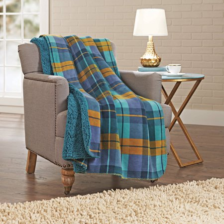 Walmart Throw Blankets Cool Better Homes And Gardens Sherpa Throw Blanket Walmart