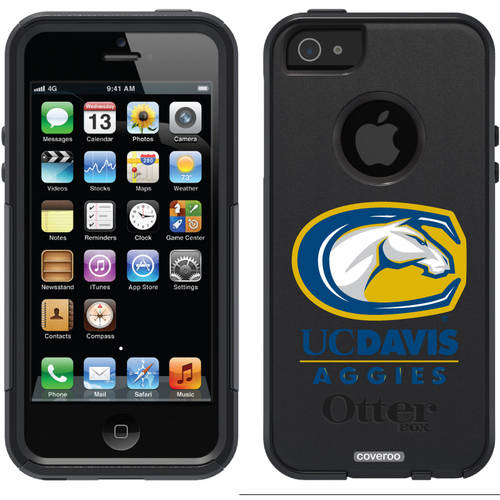 UC Davis Aggies Mascot Design on OtterBox Commuter Series Case for Apple iPhone 5/5s