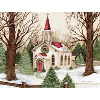 Woodland Church Boxed Christmas Cards (Other)
