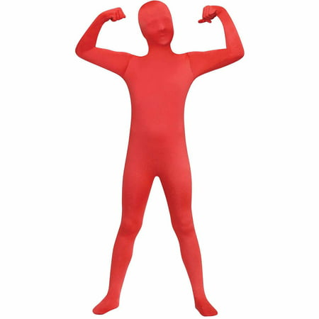 Red Skin Suit Child Halloween Costume