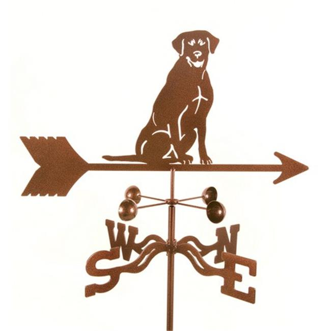 EZ Vane EZ1413-RF Sitting Lab Dog Weathervane with Roof Mount - image 1 of 1
